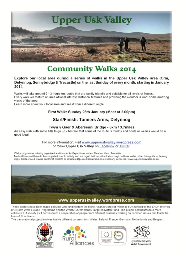 Walks Poster January 2014