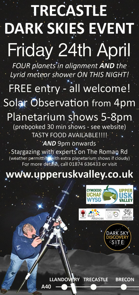 Free solarscoping and stargazing